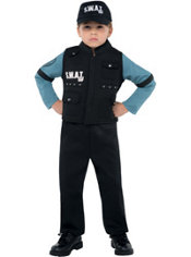 Boys Jr. SWAT Costume