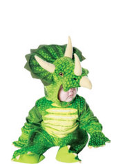 Baby Green Triceratops Costume