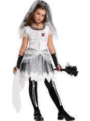 Girls Skela-Bride Costume