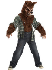 Boys Howling at the Moon Werewolf Costume Deluxe