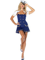 Adult Ship Shape Captain Costume
