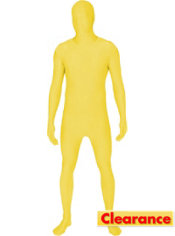 Adult Yellow Morphsuit Plus Size