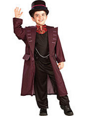 Boys Willy Wonka Costume - Charlie and the Chocolate Factory
