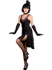 Adult Sophisticated Lady Flapper Costume