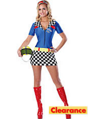 Adult Racey Racer Costume
