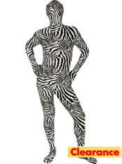 Adult Zebra Morphsuit