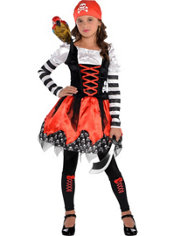 Girls Crossbone Cutie Costume
