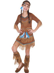 Girls Dream Catcher Cutie Native American Costume