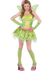 Teen Girls Tinker Bell Costume