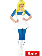Adult Blue Gnome Costume