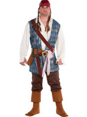 Adult Jack Sparrow Costume Plus Size
