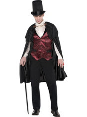 Adult Blood Count Vampire Costume