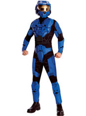 Adult Blue Halo Costume - Halo's Blood Gulch Chronicles
