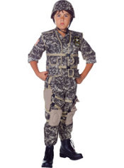 Boys U.S. Army Costume Deluxe