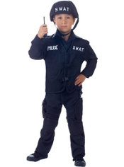 Boys SWAT Officer Costume