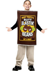 Boys Can of Beans Costume