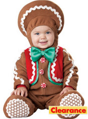 Baby Gingerbread Man Costume Deluxe