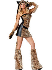 Adult Lusty Leopard Costume