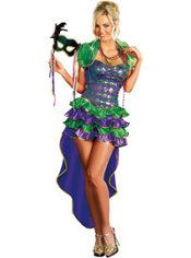 Adult Mardi Gras Maven Costume