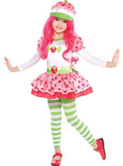Toddler Girls Strawberry Shortcake Costume