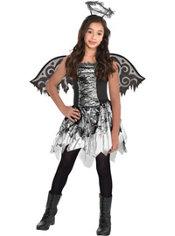 Girls Fallen Angel Costume