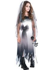 Girls Graveyard Bride Costume