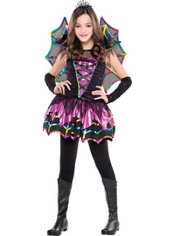 Girls Spider Fairy Costume