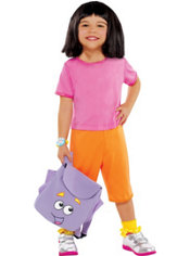 Toddler Girls Dora The Explorer Costume
