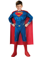 Boys Superman Costume Deluxe - Man of Steel