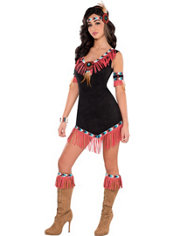 Adult Rising Sun Native American Princess Costume