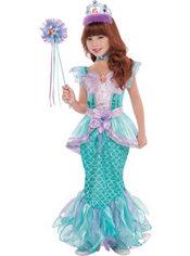 Girls Ariel Supreme Costume - The Little Mermaid