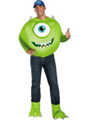 Adult Mike Costume Plus Size Deluxe - Monsters University