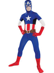 Boys Captain America Morphsuit