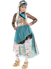 Girls Frankie Stein Costume Supreme - Monster High