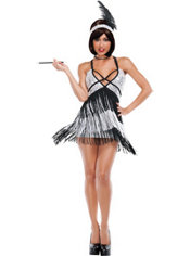 Adult Boardwalk Flapper Costume