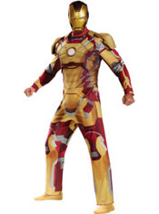 Adult Iron Man 3 Costume Deluxe
