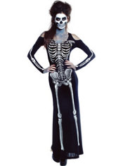 Adult Bone Appetit Skeleton Costume
