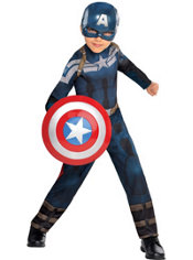 Boys Captain America Costume - Captain America 2