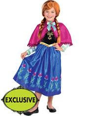 Girls Anna Costume - Frozen