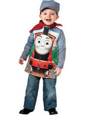 Boys James Engineer Costume Deluxe - Thomas & Friends