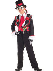 Boys Day of the Dead Senor Costume