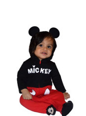 Baby Mickey Mouse One-Piece Pajamas