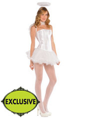 Adult White Angel Costume