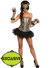 Adult Pretty Kitty Leopard Costume