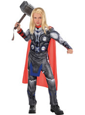 Boys Thor Muscle Costume - Avengers: Age of Ultron