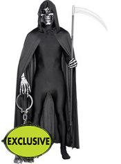 Adult Grim Reaper Partysuit Costume