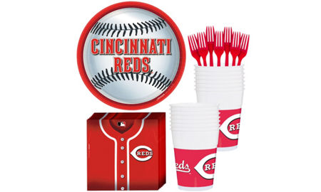 Before you head out to the next Cincinnati Reds game, be sure to stock up with the latest tailgating gear and party supplies. Perfect for a stadium parking lot party or a home get-together, Cincinnati Reds drinkware, grilling accessories, and flags from the Official Online Retailer of Major League Baseball are the best way to show your baseball pride.