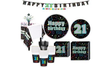 Brilliant 21st birthday party supplies decorations for 21st birthday decoration ideas for boys