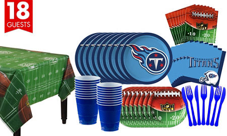 NFL Tennessee Titans Party Supplies - Party City
