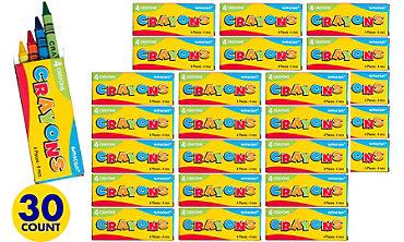 Crayons Mega Value Pack 30ct